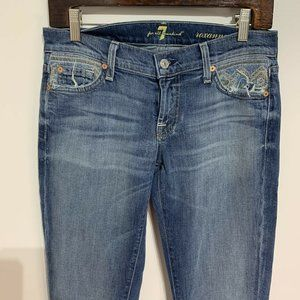 7 For All Mankind Roxanne Jeans  Women Size 26